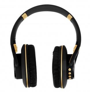 LKD900 Stereo Bluetooth Headset mit Multifunktionstaste & Mikrofon - Schwarz