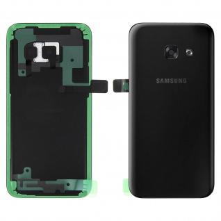 Original Samsung Akkufachdeckel für Samsung Galaxy A3 2017 - Schwarz