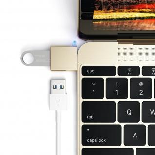Sync- & Ladeadapter, USB-C männlich / USB weiblich Adapter by Satechi - Gold - Vorschau 3