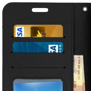 Flip Stand Cover Brieftasche & Standfunktion Huawei Y5 2018/Honor 7S - Schwarz - Vorschau 4
