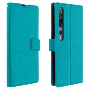 Flip Stand Case Brieftasche & Standfunktion für Xiaomi Mi 10/Mi 10 Pro ? Blau