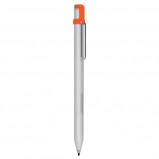 Microsoft Surface Pro / Go Hochpräzisions-Stift 200 Std. Akkulaufzeit ? Silber