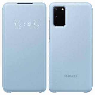 Original Samsung LED-View Cover + Kartenfach Samsung Galaxy S20 - Hellblau