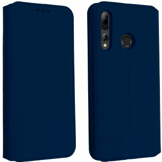 Kunstleder Cover Classic Edition Huawei P Smart plus 2019 - Dunkelblau