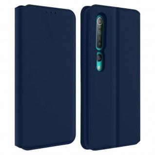 Kunstleder Cover Classic Edition Xiaomi Mi 10, Xiaomi Mi 10 Pro � Blau