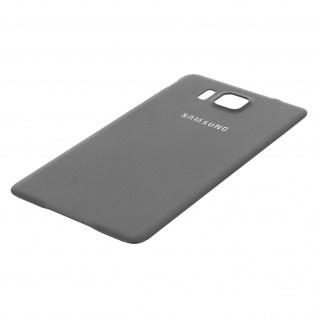 Ersatzteil Akkudeckel, neue Rückseite für Samsung Galaxy Alpha - Grau - Vorschau 3