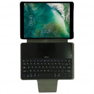 iPad Pro 10.5 / Air 2019 Case Azerty Bluetooth Tastatur, Gecko Covers ? Schwarz