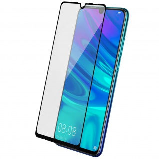 Voll-Bildschirmschutz Rand Schwarz, Full Cover Huawei P Smart 2019/Honor 10 Lite