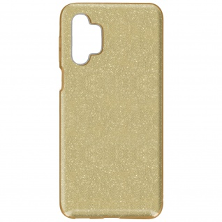 Schutzhülle, Glitter Case für Samsung Galaxy A32 5G, shiny & girly Hülle â€? Gold