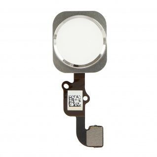 Ersatzteil Home Taste mit Flexkabel für Apple iPhone 6 Plus Weiß