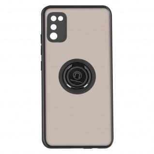 Hybrid Handyhülle mit Ring-Halterung für Galaxy A41 ? Schwarz