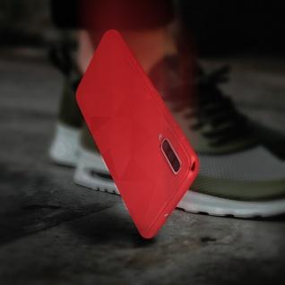 Holographische Handyhülle für Samsung Galaxy A50, Prism Design, Mocca - Rot - Vorschau 5