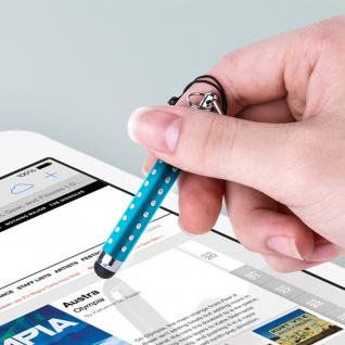 Ausziehbarer Eingabestift für Touchscreen 3.5 Klinkenstecker ? Türkisblau - Vorschau 5