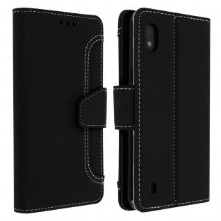 Samsung Galaxy A10 Klapphülle mit Portemonnaie - Schwarz