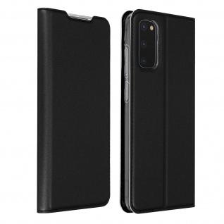 Klappetui mit Kartenfach & Standfunktion Samsung Galaxy S20 - Schwarz