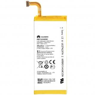 Huawei Ascend P6 Akku - Huawei HB3742A0EBC Austausch-Akku - 2000 mAh