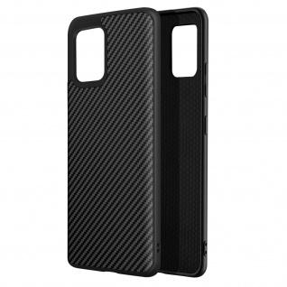 SolidSuit Carbon Handyhülle by Rhinoshield für Samsung Galaxy A42 ? Schwarz