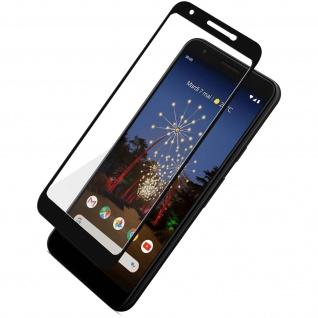 9H Härtegrad kratzfeste Glas-Displayschutzfolie für Google Pixel 3A â€? Schwarz