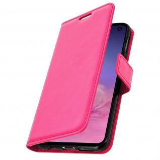 Flip Stand Cover Brieftasche & Standfunktion für Samsung Galaxy S10e - Rosa - Vorschau 2