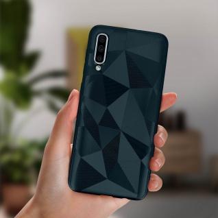 Holographische Handyhülle für Samsung Galaxy A50, Prism Design, Mocca - Blau - Vorschau 4