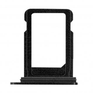Nano-Sim-Kartenhalter, Halter Ersatzteil für Apple iPhone 12 Mini ? Schwarz