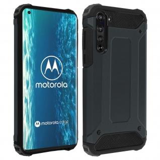 Defender II schockresistente Schutzhülle Motorola Edge - Dunkelblau
