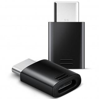 Original Samsung MicroUSB weiblich zu umkehrbarem USB Typ-C-Adapter männlich
