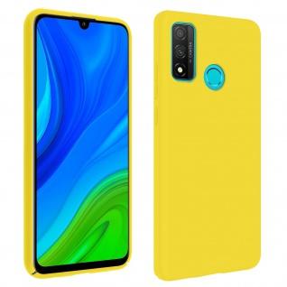 Halbsteife Silikon Handyhülle Huawei P smart 2020, Soft Touch - Gelb