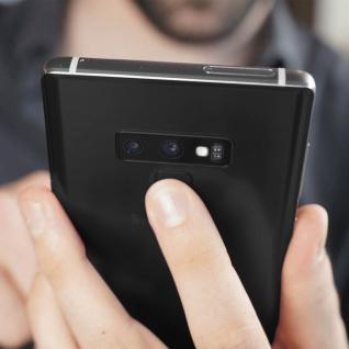 Kamera Linse für Rück-Kamera Ersatzteil Samsung Galaxy Note 9 - Schwarz - Vorschau 4