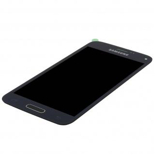 Original Samsung LCD Komplettset mit Touchscreen für Galaxy S5 Mini - Schwarz - Vorschau 4