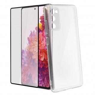 360° Protection Pack für Samsung Galaxy S20 FE: Cover + Displayschutzfolie