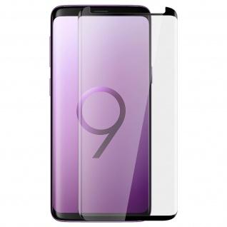 Akashi, Samsung Galaxy S9 Displayschutz, Full Protection Abgerundete Kanten