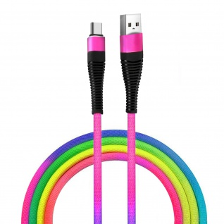 iPhone, iPad, iPod Lade/Synchronisationskabel buntes Design und widerstandsfähig