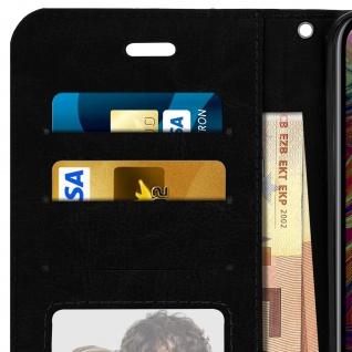 Flip Stand Cover Brieftasche & Standfunktion Apple iPhone XS Max - Schwarz - Vorschau 5