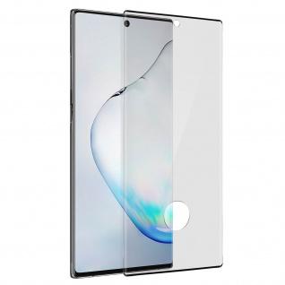 9H Härtegrad kratzfeste Glas-Displayschutzfolie Galaxy Note 10 Plus - Schwarz