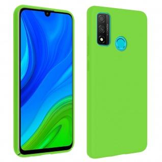 Halbsteife Silikon Handyhülle Huawei P smart 2020, Soft Touch - Grün
