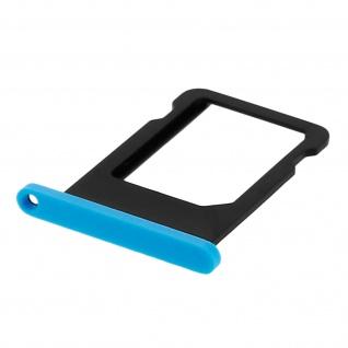 Nano-Sim-Ersatz-Kartenhalter für Apple iPhone 5C - Blau - Vorschau 3