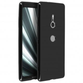 Flexible kratzfeste Schutzhülle aus Silikon für Sony Xperia XZ3 - Schwarz - Vorschau 2
