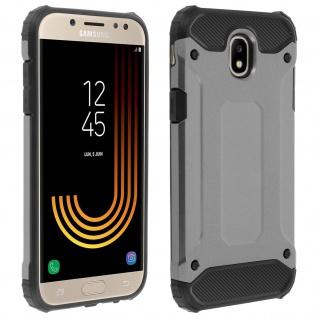 Defender II stoßfeste Hülle für Samsung Galaxy J5 2017 â€? Fallfest (1, 80m) â€? Grau