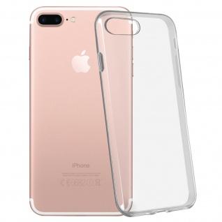 Apple iPhone 7 Plus & 8 Plus Ultra-Clear Schutzhülle aus Silikon - Transparent