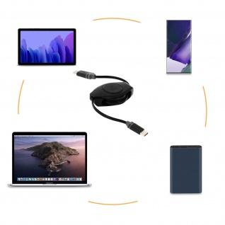 USB-C Kabel, Lade- und -Synchronisationskabel, 105 cm, Retrak - Schwarz - Vorschau 4