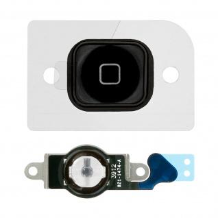 Ersatzteil Home Taste mit Flexkabel für Apple iPhone 5 Schwarz