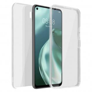 Schutzhülle für Huawei P40 Lite 5G, Vorder- + Rückseite ? Transparent