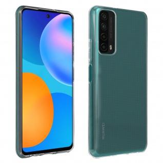 Huawei P Smart 2021 Silikonhülle, dünne flexible Hülle, Bigben - Transparent