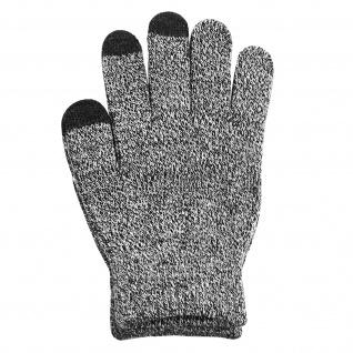 Winter Touchscreen-Handschuhe für Männer, rutschfeste Handfläche - Grau