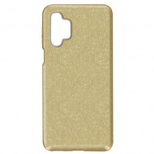 Schutzhülle, Glitter Case für Samsung Galaxy A32 â€? Gold