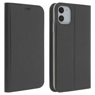 Flip Cover, Klappetui mit Kartenfach & Standfunktion Apple iPhone 11 - Grau
