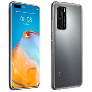Huawei P40 Schutzhülle Silikon Second Skin - Transparent