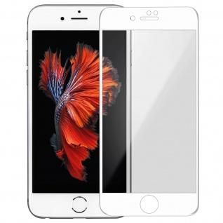 Premium Schutzfolie für Apple iPhone 6, iPhone 6S mit Blickschutz - Weiß