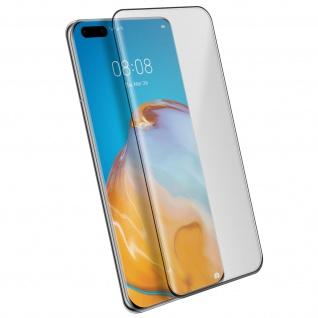 4Smarts - Schutzfolie Second Glass für Huawei P40 Pro - Rand Schwarz